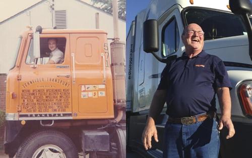 Schneider driver legend Bob Wyatt