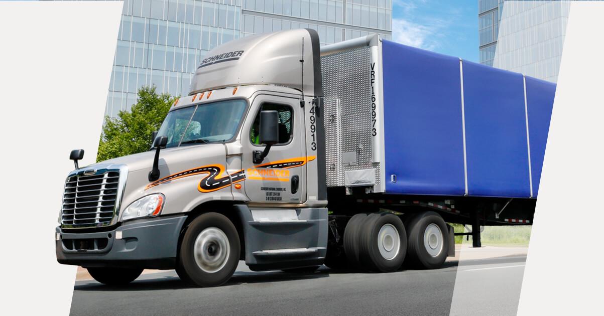 Van Truckload Driver Instructor Phoenix Az Schneider