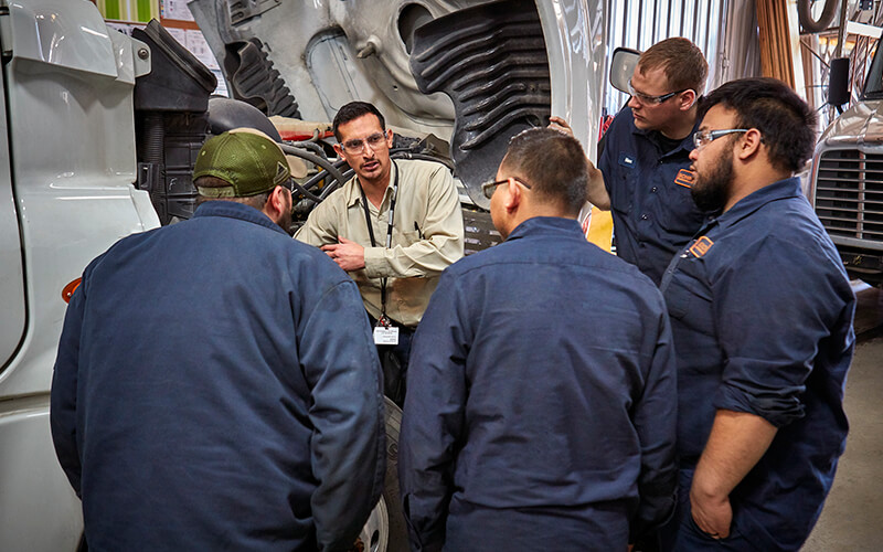 Learn how to satisfy the five diesel technician requirements so you can get your career started.