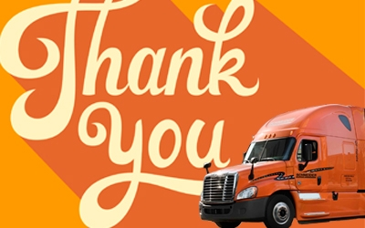 Thank You Schneider Drivers IMG