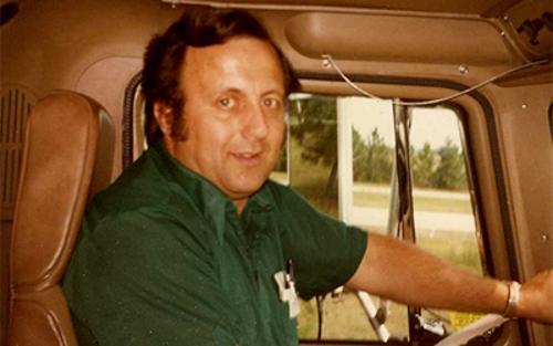 Schneider driver Ralph Stoffel