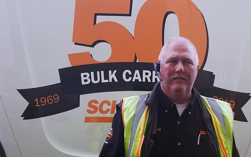 Robert Beckner Schneider Tanker Driver