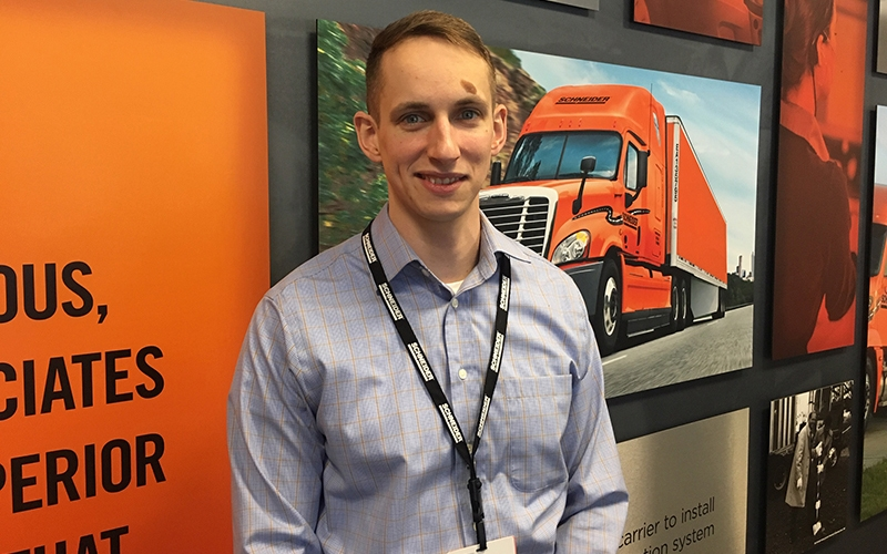 Schneider's new Operations Manager, Jonathan Bass