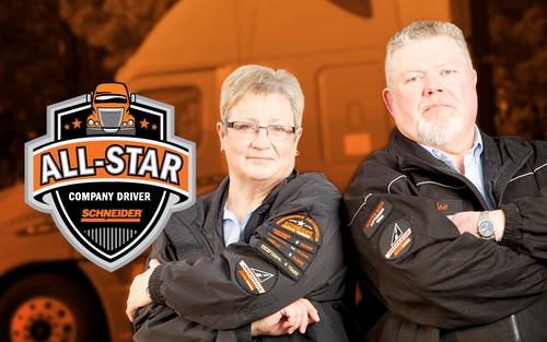 Schneider's Featured Team Drivers Naders