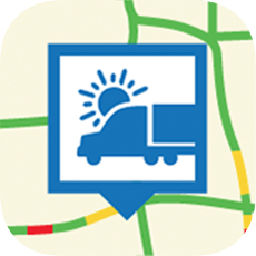 Trucking Weather and Traffic app icon