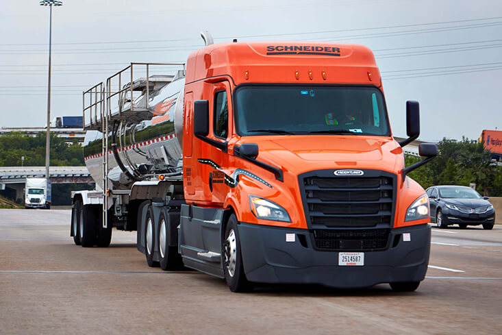 Schneider OTR Tanker Truck Driving Jobs