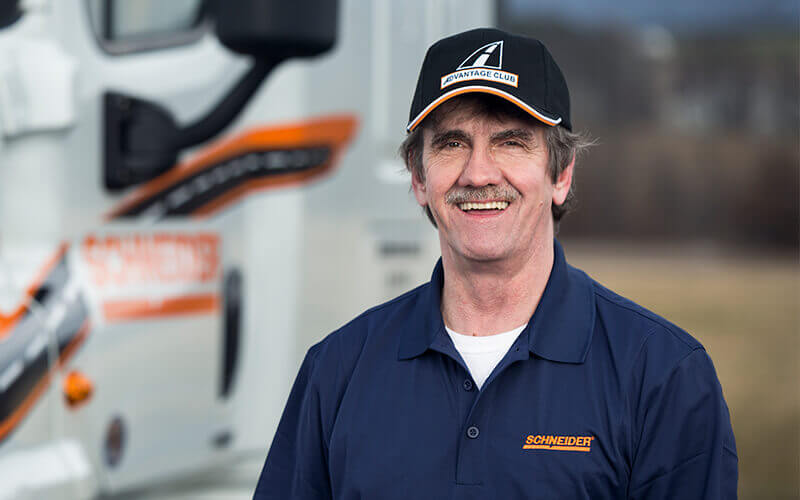 Featured Dedicated Driver Robert Faircloth