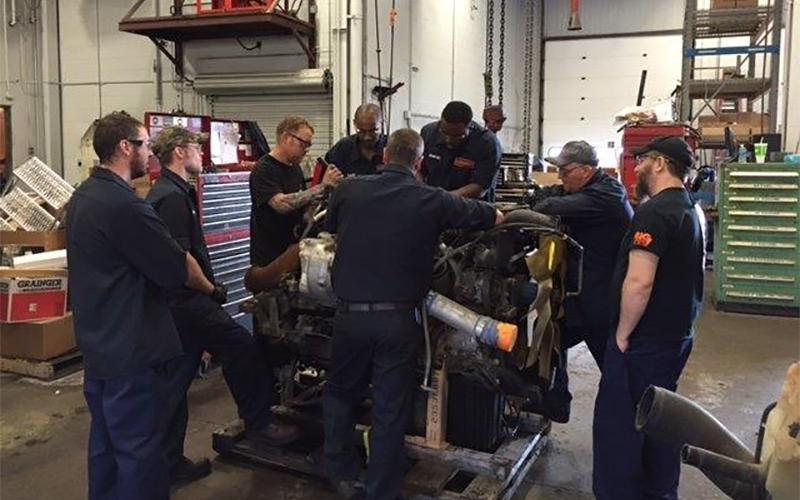 First 90 Days as a Schneider diesel technician