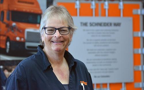 Nan Cunningham, longest-tenured female driver