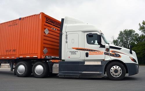 Schneider Driver Experience Initiative Tecnology Update