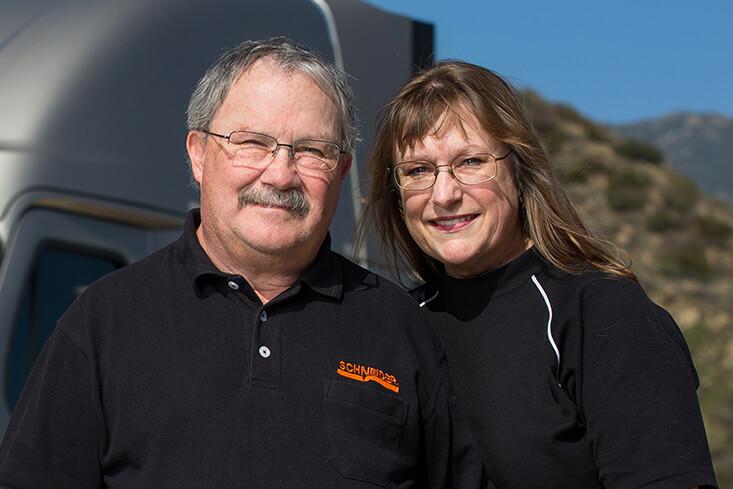 Schneider Team Van Truckload Truck Driving Jobs