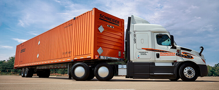 Schneider Intermodal Truck Driving Jobs