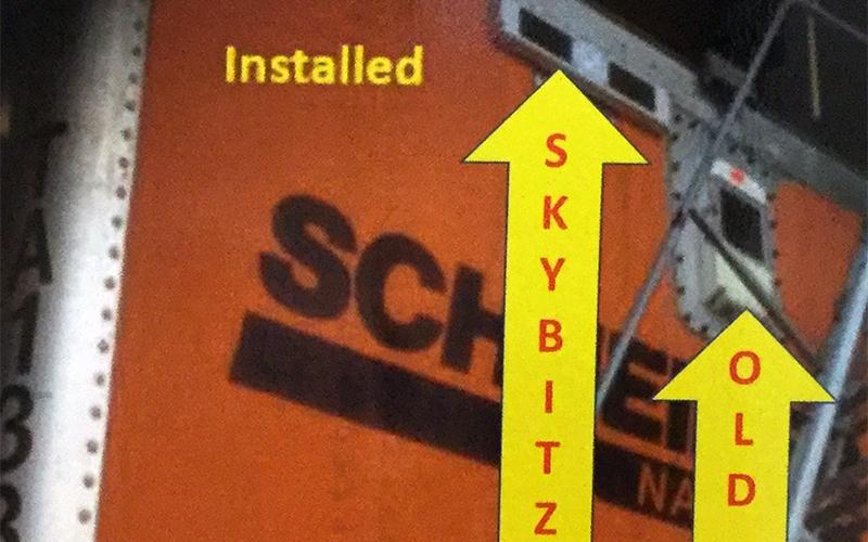 Schneider Skybitz Trailer Tracking