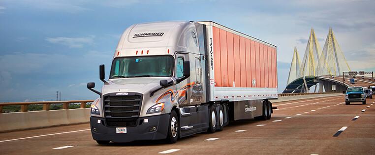 Schneider Van Truckload Truck Driving Jobs