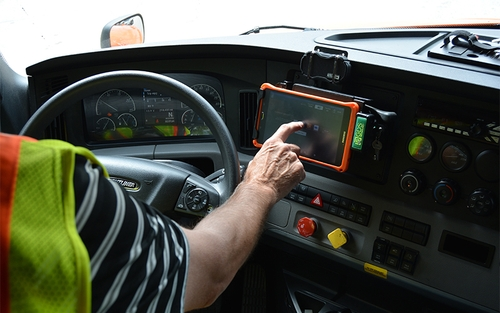 Schneider Driver Experience Tablet Deployment