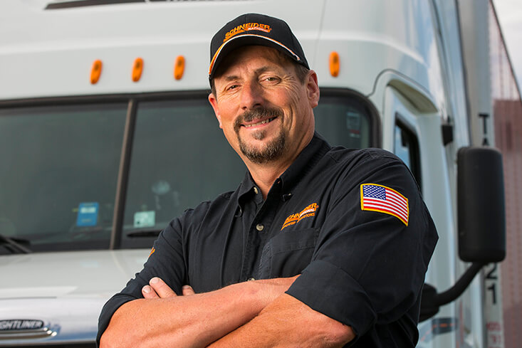 Schneider Dedicated Solo Truck Driving Jobs