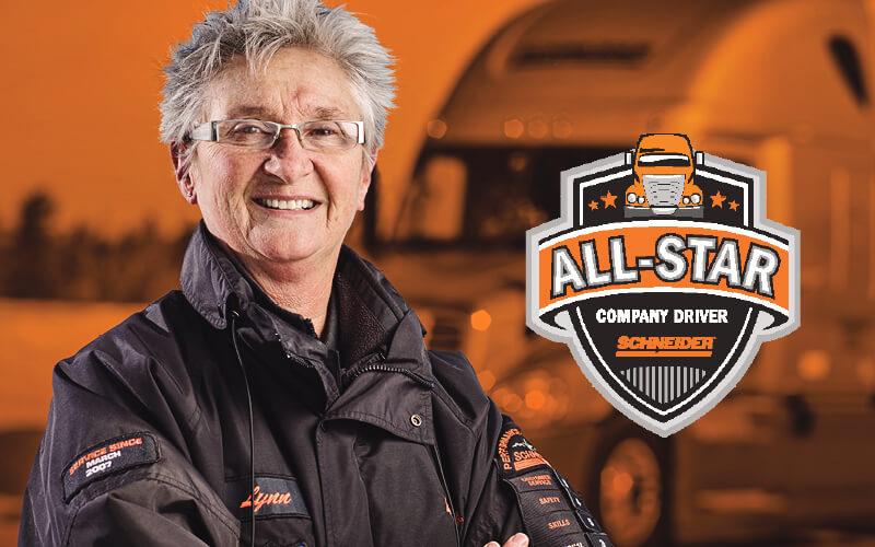 Featured OTR Driver Lynn Lavallee