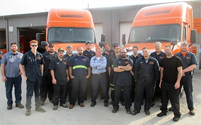 Schneider Diesel Technicians