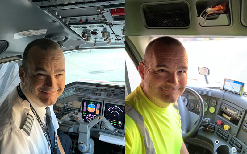 Bill Tyler shares his story of pivoting from airline pilot to Schneider driver, not once, but twice.