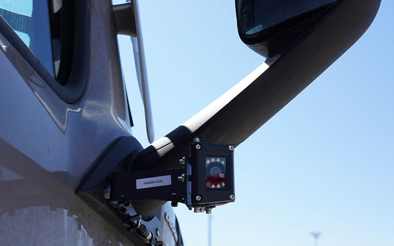 2020 Freightliner mirror camera