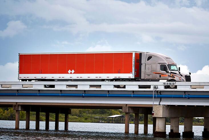 Schneider Over the Road Van Truckload Truck Driving jobs