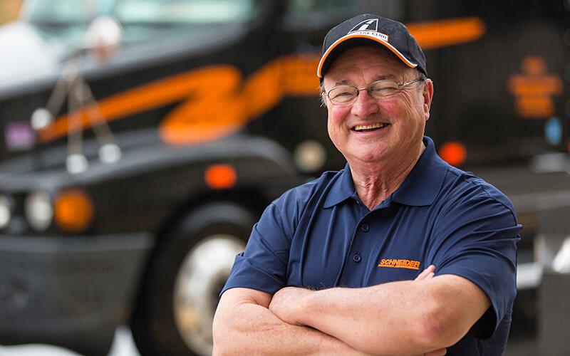 Schneider driver Bob Wyatt