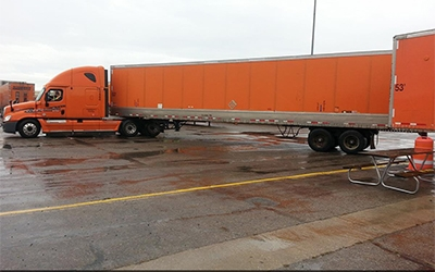 How to Back a Tractor-Trailer Safely