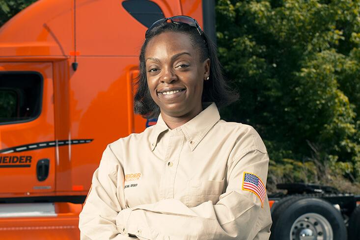 Schneider Solo Regional Truck Drivers