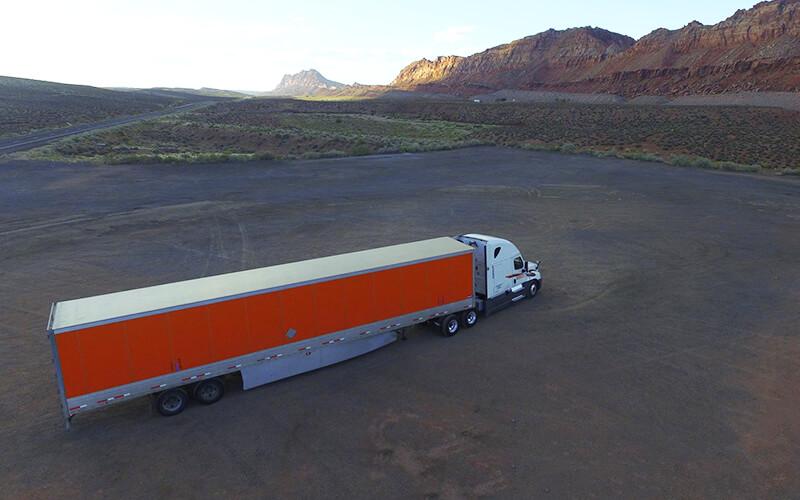 How long is a semi truck