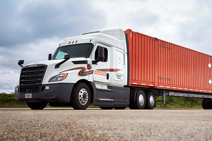 Schneider Regional Intermodal Truck Driving Jobs