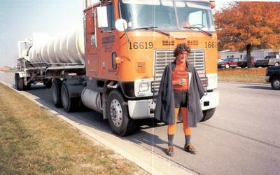 Sonny Wagner dressed as Schneider Man