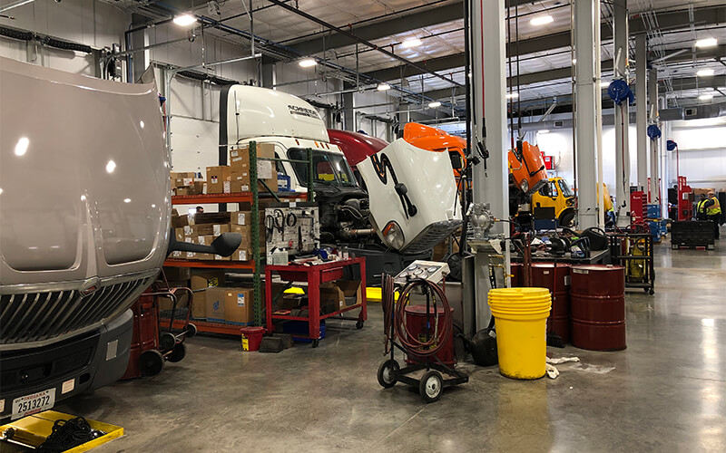 Schneider Dallas facility maintenance