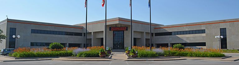 Schneider office locations are all over the U.S.