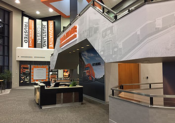 Schneider's Corporate Office remodeled back in 2016