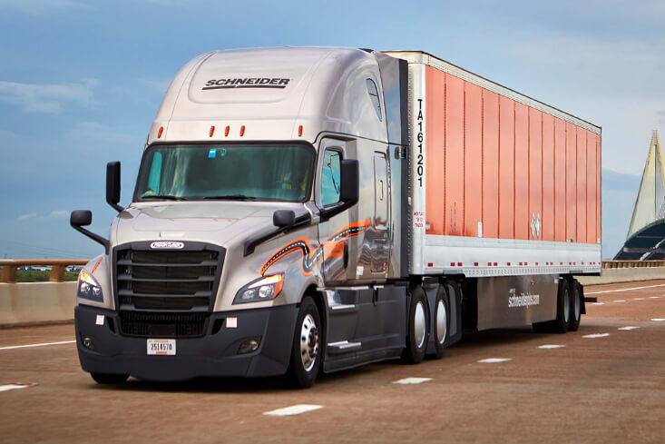 Schneider Van Truckload Drivers