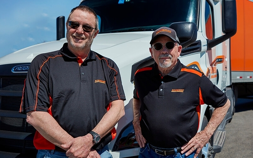 New Schneider Team driver pay increase and Team fleet expansion.