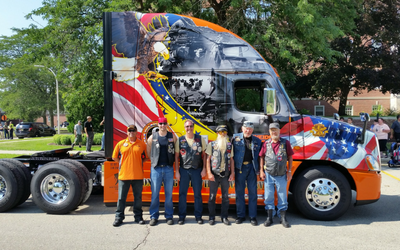2016 Ride of Pride with veterans