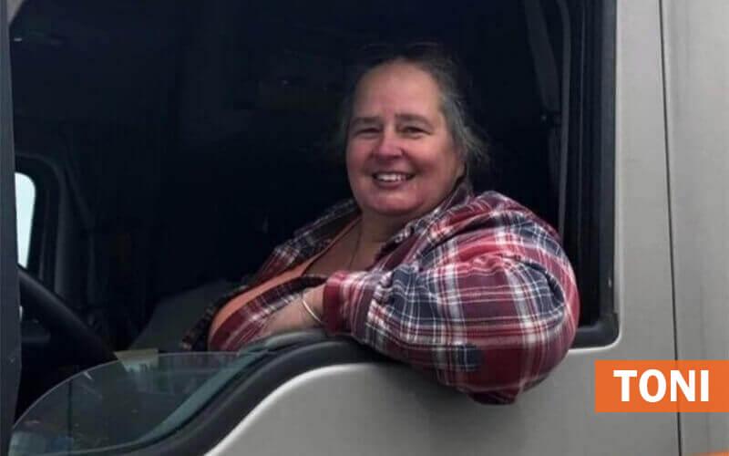 Schneider female driver, Toni