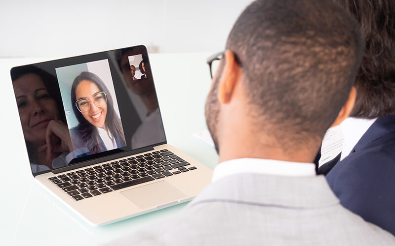 Prepare for a video interview with these eight must-know tips.