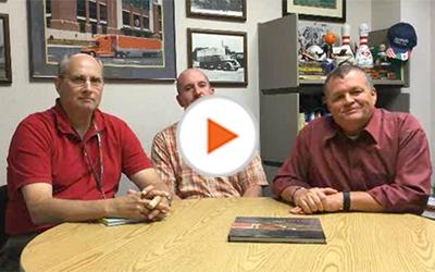 Schneider leaders Stu, Matt and Todd