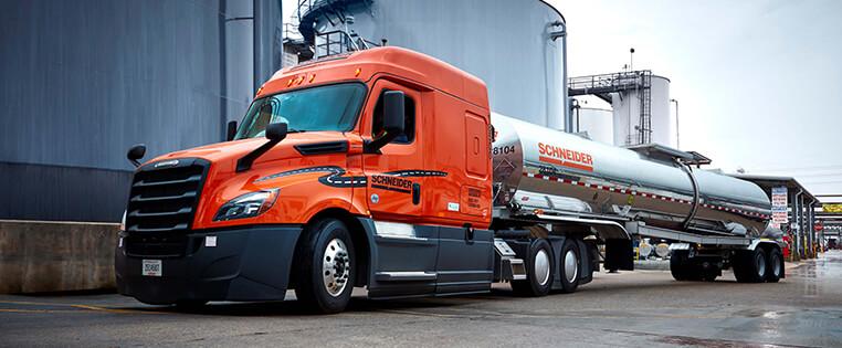 Schneider Regional Truck Driving Jobs
