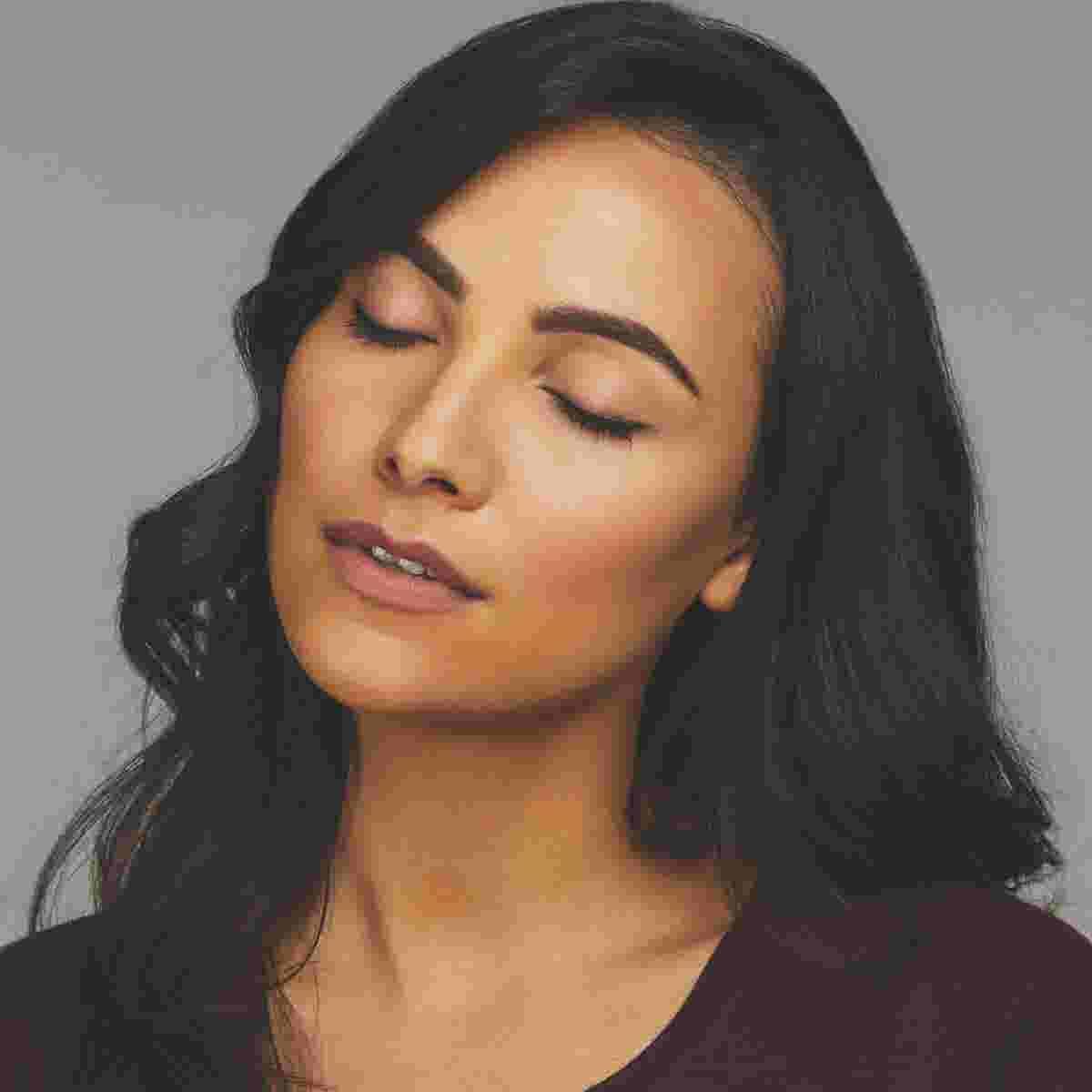 Winged eyeliner tutorial final look