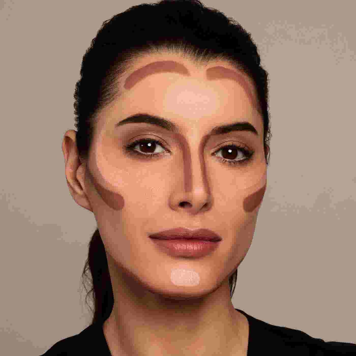 Model showing how to contour