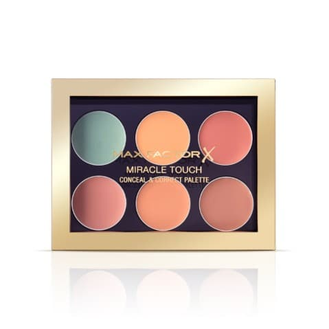 MAX FACTOR MIRACLE TOUCH CONCEAL & CORRECT PALETTE 蜜丝佛陀奇幻触感遮瑕修颜盘 001