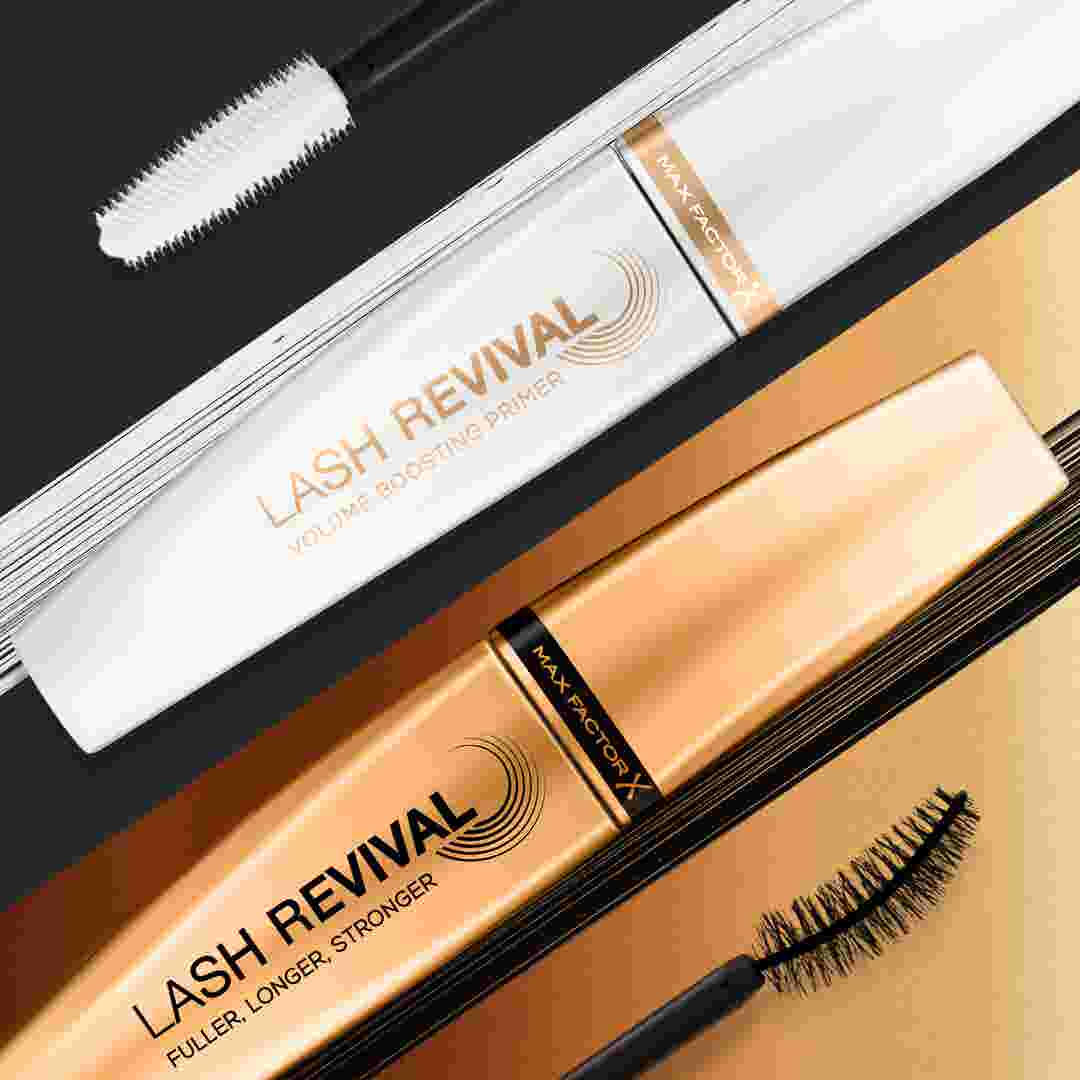 Max Factor Lash Revival Eyelash Primer and Lash Revival Mascara