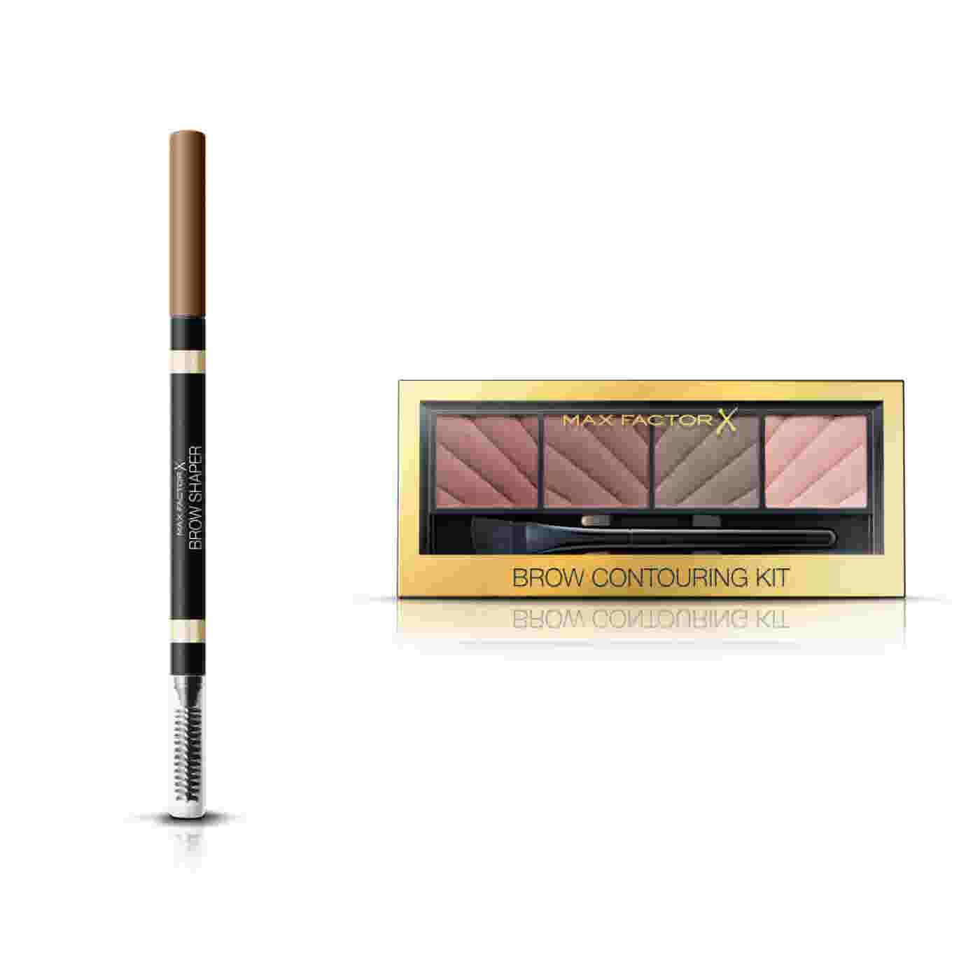 Max Factor Brow Shaper Eyebrow Pencil and Brow Contouring Kit