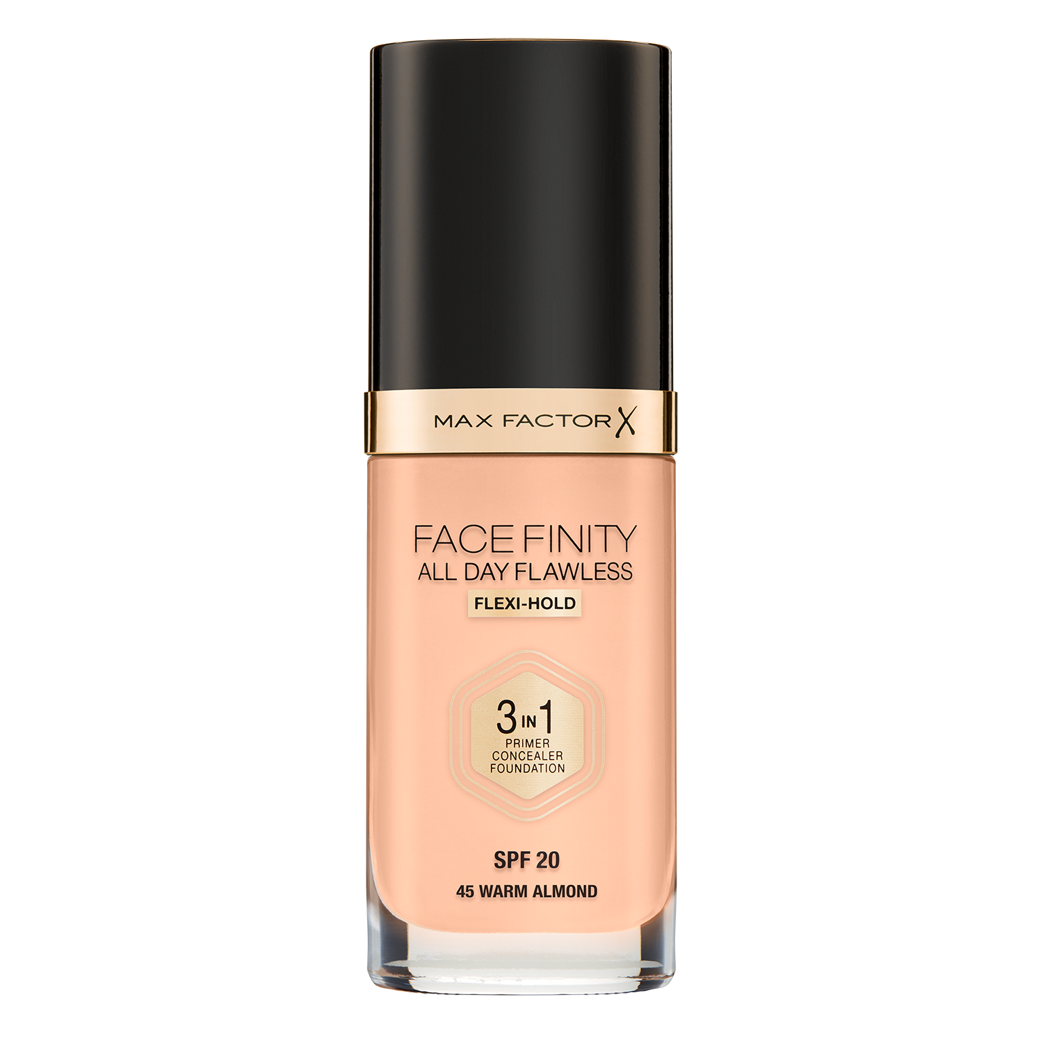 Facefinity All Day Flawless 3-in-1 Foundation in Light Ivory 40