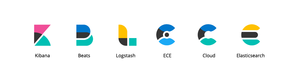 Updated product logos in full color