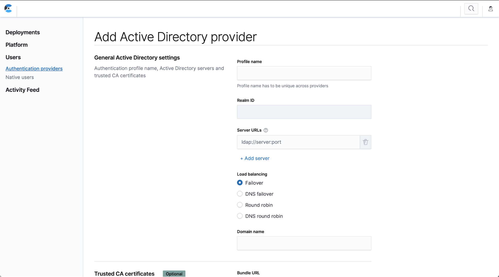 elastic cloud enterprise active directory