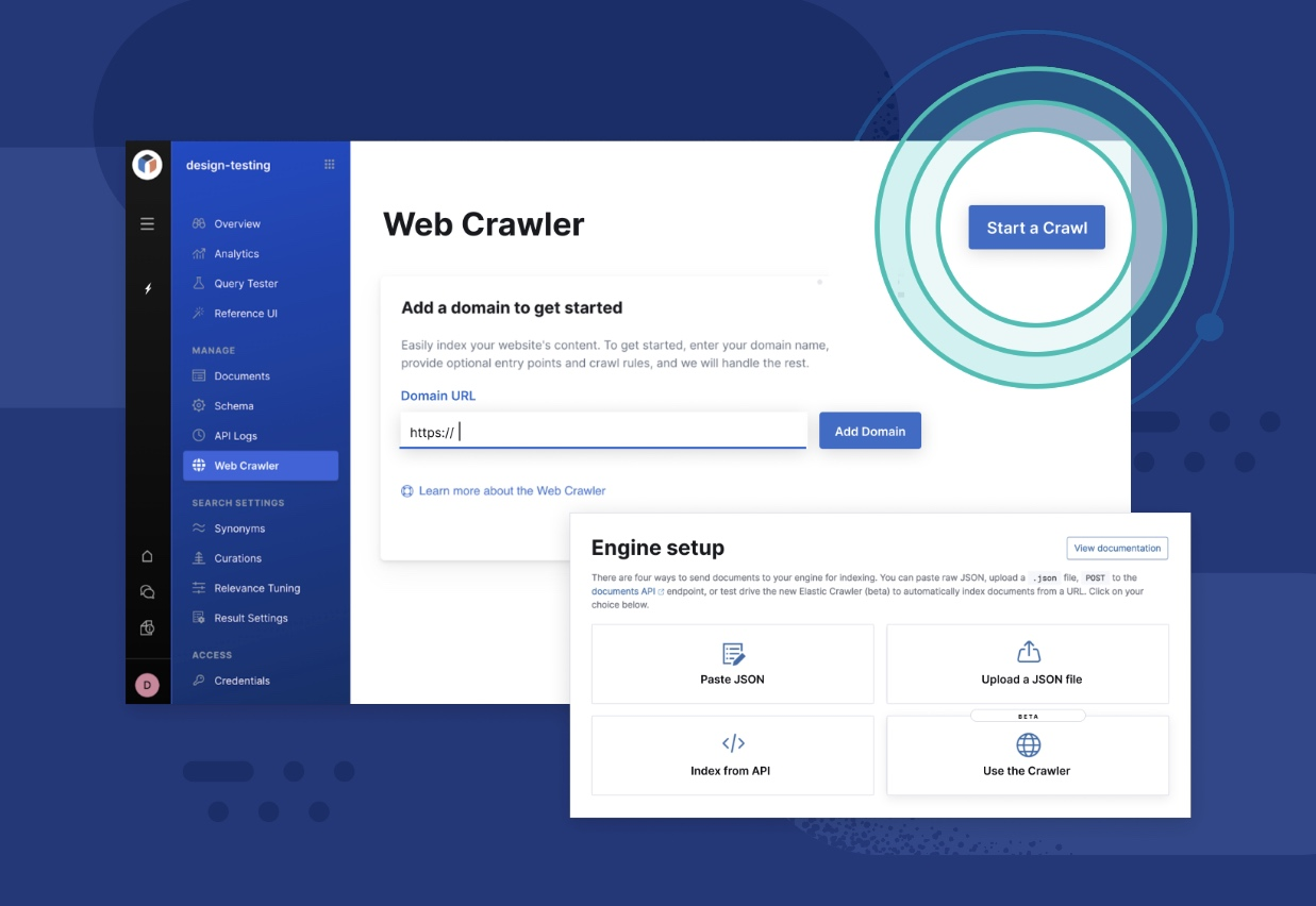 The new web crawler in Elastic App Search